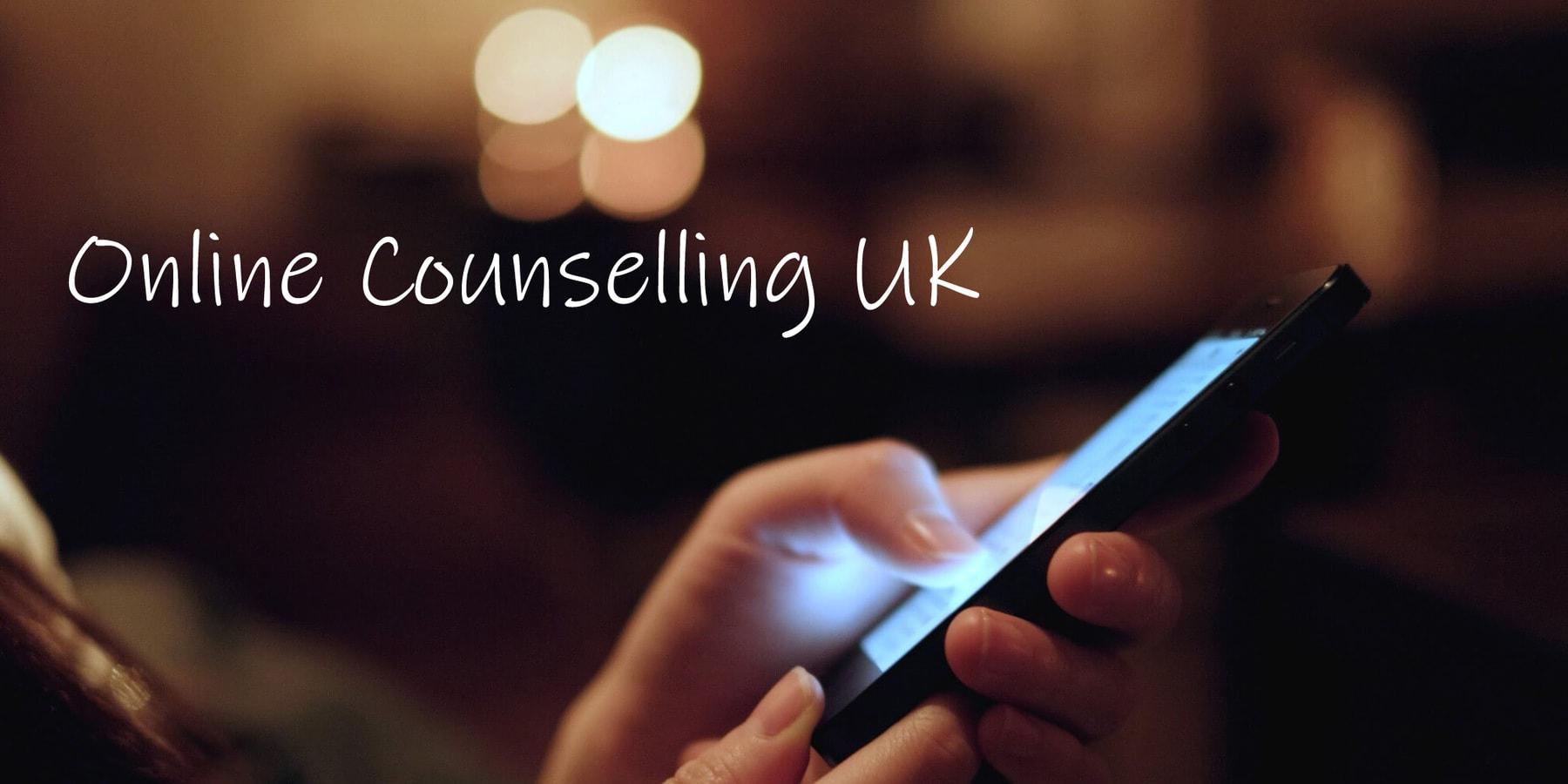 Online Counselling UK header image
